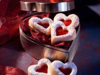 Sour Cream Cookies with Raspberry Jelly recipe
