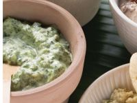 Sour Cream Dip with Spinach recipe