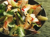South-east Asian Lotus and Shrimp Bowl recipe