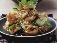 South-east Asian Noodles with Prawn recipe
