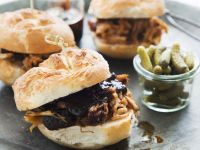 Southern BBQ Pulled Pork Sandwiches recipe