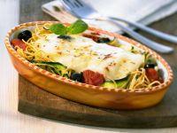 Spaghetti and Zucchini Bake recipe