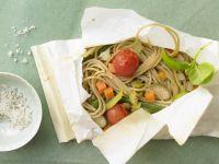 Spaghetti in Parchment Paper recipe