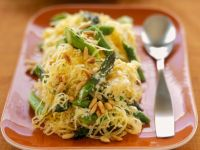 Spaghetti Squash Pasta with Pine Nuts recipe