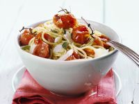 Tomato and Cheese Pasta Bowl recipe