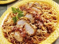 Spaghetti with Chicken recipe
