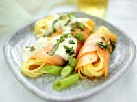 Spaghetti with Smoked Salmon recipe