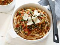 Spaghetti with Spicy Sicilian Tomato Sauce recipe