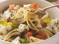 Tricolore Spaghetti recipe