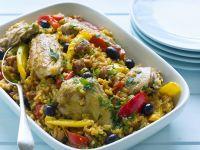 Spanish Chicken and Chorizo Rice recipe