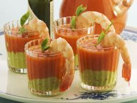 Spanish Gazpacho with Shrimp recipe