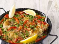 Spanish Rice Dish with Lemon recipe