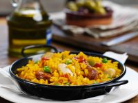Spanish Rice with Chicken (paella) recipe