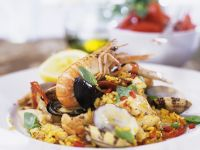 Spanish Seafood and Rice recipe