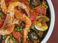Spanish Seafood Rice Dish recipe