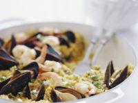 Spanish Seafood with Rice recipe