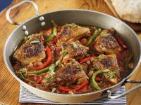 Spanish-Style Braised Chicken Legs recipe