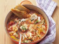 Spanish-style Fish Casserole recipe