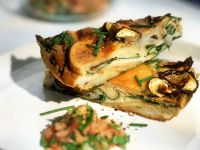 Spanish-style Tortilla with Mushrooms recipe