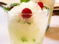 Sparkling Lemon Mint Granita recipe