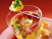 Sparkling White-Wine Sangria recipe