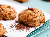 Spelt and Flaxseed Cookies recipe