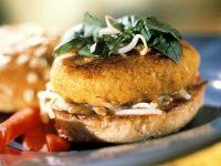 Spelt and Gouda Burgers recipe