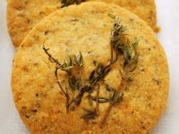 Spelt and Thyme Crackers recipe