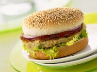 Spelt Patty Burger recipe