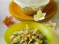 Spelt Salad with Beans and Apple recipe