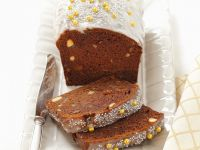 Spice Cake with Dried Fruit and Nuts