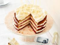 Spice Cake with Jam Filling recipe