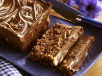 Spice Cake with Marbled Chocolate Glaze recipe