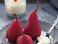 Spice Poached Pears recipe