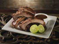 Spice Rubbed Pork Ribs recipe
