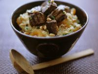 Spiced Beef Couscous Bowl recipe