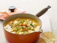 Spiced Chicken and Veggie Soup recipe