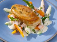 Spiced Chicken Breast Salad