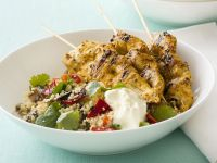Spiced Chicken Kebabs recipe