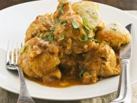 Spiced Chicken with Gravy recipe