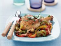 Spiced Chicken with Peppers recipe
