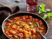 Spiced Chunky Lentil Stew recipe