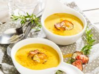Spiced Coconut and Carrot Soup recipe