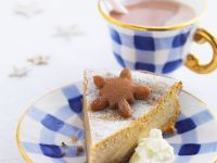 Spiced Cream Cheese Gateau recipe