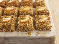 Spiced Fruit and Oat Slices recipe