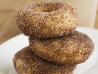 Spiced Honey and Almond Doughnuts recipe
