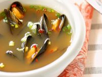 Spiced Mussel Broth recipe