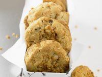 Spiced Orange and Peanut Biscuits recipe
