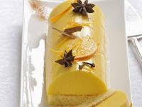 Spiced Orange Cream Dessert Log recipe