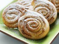 Spiced Pastry Swirls recipe